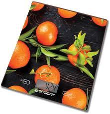 <b>Весы кухонные ENDEVER</b> Chief 504, рисунок/апельсин, отзывы ...