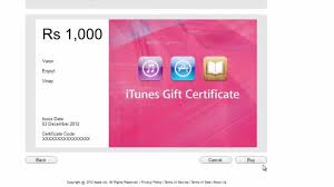 purchase redeem itunes gift card in india