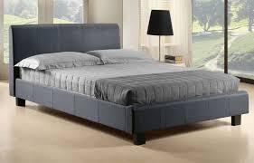 grey upholstered sleigh bed. Bedding King Grey Bed Frame Velvet Double Gray Tufted Upholstered Sleigh