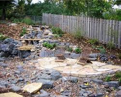 loose flagstone patio. Flagstone And Loose Rock Patio