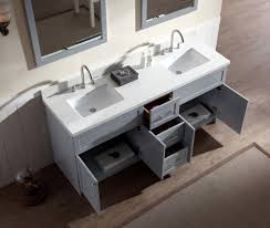 gray double sink vanity. ariel hamlet 73\ gray double sink vanity