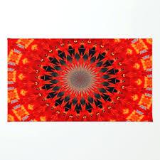 red circle rug red circle rug red semi circle rug