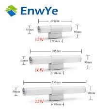 Online Shop EnwYe Wall <b>lamps</b> bathroom <b>led mirror light</b> ...
