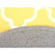 bright yellow throw blanket small size of kids trellis design rug yellow round rug back image