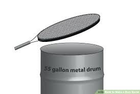 55 gallon drum lowes. Fine Lowes 55 Gallon Steel Drum Lowes Image Titled Make Cover Step 4 Home Improvement  Cast Members On Gallon Drum Lowes A