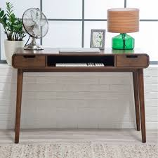 belham living carter mid century modern writing desk  hayneedle