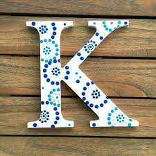 painted wooden letters ideas kappa letter sorority wall art wall decor blue and white dot a painted sorority diy painted wooden letters for nursery on wall art wooden letters with painted wooden letters ideas kappa letter sorority wall art wall