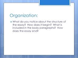 persuasive writing lesson powerpoint 24 organizing the essay  topic