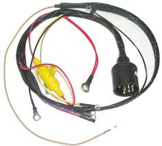 evinrude internal wiring harness iboats com johnson evinrude 413 1721 round plug internal engine harness cdi electronics
