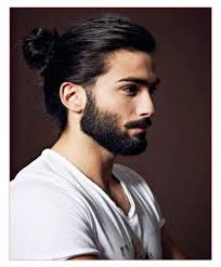 Diffrent Hair Style different hairstyles for long hair for men also man ponytail 7990 by wearticles.com