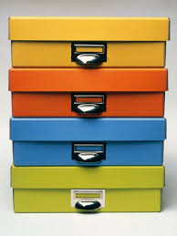 Decorative Document Boxes Set Up a Household Filing System HGTV 2