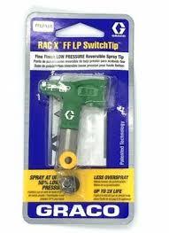 Graco Spray Tip Chart Graco Rac X Fflp Spray Tip Sizes Fine Finish Low Pressure