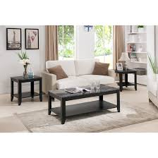 Table Sets Living Room 3 Piece Coffee Table Sets Coffee Tablecoffee Table Set Up