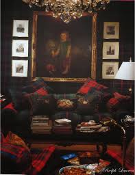 Ralph Lauren Living Room Furniture Mad For Plaid The Potted Boxwood