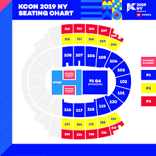 Javits Center Seating Chart Kcon La Ny 2019 Lineup Updated Tickets Schedule We