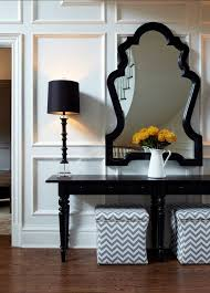 foyer furniture ideas. foyer ideas beautiful furniture a large black stained console was used with tall f