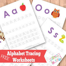 Free Upper and Lower Case Letter Tracing Worksheets | Free ...