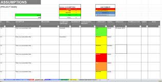 Excel Raid Log Dashboard Template Track Report Risk