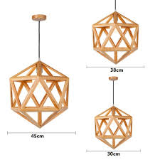 vintage country style lighting fixtures for bedroom american loft wood hanglamp hout restaurant wooden pendant lamp