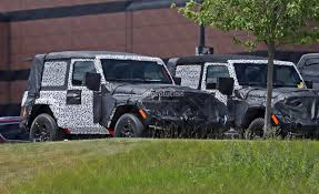 2018 jeep yellow. wonderful jeep 2018 jeep wrangler jl twodoor spied inside jeep yellow