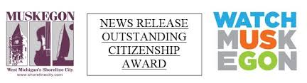 News Release Outstanding Citizenship Award City Of Muskegon