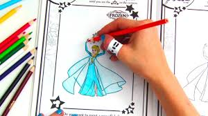 Then grab those crayons and pencils and get your disney family coloring! Disney Frozen Color Play Coloring Book Youtube
