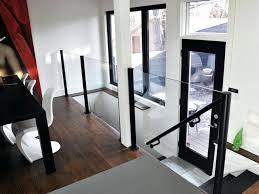 interior glass railing systems glass deck
