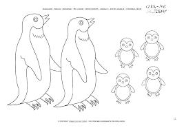 Penguin Coloring Pages Printable Penguins Coloring Pages Penguins