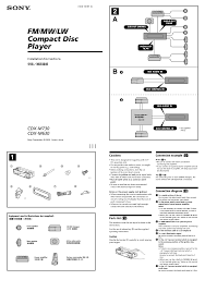 Sony Xplod 50wx4 Wiring Diagram Sony Xplod Speakers