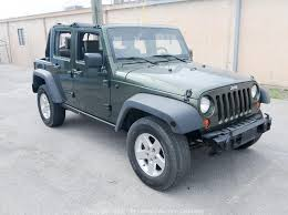 2008 jeep wrangler 4 door unlimited rubicon 4x4 3 8l v6 engine