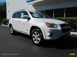 2010 Toyota RAV4 Limited V6 4WD in Blizzard White Pearl - 013825 ...