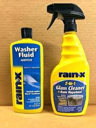 rain x window cleaner rain x glass cleaner rain x 2 in 1 cleaner treatment spray