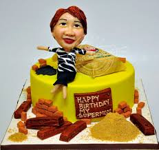 A Birthday Cake For A Supermom