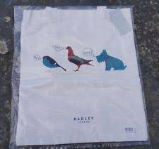 white radley bags radley a little bird told me canvas tote shopping