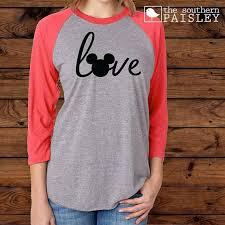 Next Level Youth Raglan Size Chart Disney Love Youth Shirt Next Level Raglan T Shirt Baseball Tee 3 4 Sleeves Disney Vacation