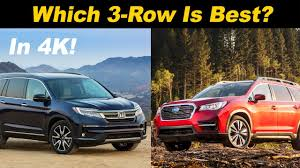 Honda Pilot Vs Subaru Ascent Which Is Right For You