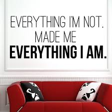 everything i m not made me everything i am kanye west wall art uno company