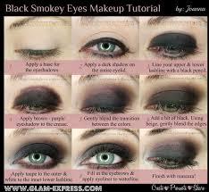 black smoky eyes makeup tutorial glamexpress
