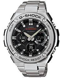g shock watches macy s g shock men s analog digital stainless steel bracelet watch 52x60mm gsts110d 1a