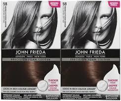 John frieda hair color light natural brown 6n precision foam coloring sealed. John Frieda Foam Hair Color Creams For Sale In Stock Ebay