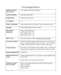 Student Incident Report Accident Template Form Example Latex