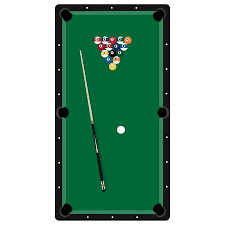 pool table clipart side view. Modren View Raster Illustration Realistic Pool Table With Set Of Billiard Balls And  Cue Billiard To Pool Table Clipart Side View T