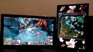 jogando dota 2 com mini mapa em outro monitor youtube