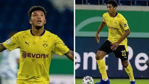 Jude bellingham, 17, from england borussia dortmund, since 2020 central midfield market value: Jadon Sancho And Jude Bellingham Make Dortmund History Man United Fans Far From Amused