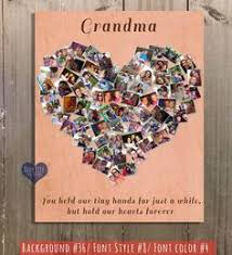 grandmother gift mother s day gift gift for nana gift for baba grandma birthday gift mother s day heart for mom