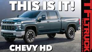 2020 Chevy Silverado HD: You Won't Believe The Way It Looks! - YouTube