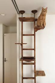 cat trees that look like furniture. This Cat Climbing Tree Looks Like Ladder And Offers Great Place For Your To Hang Out Trees That Look Furniture