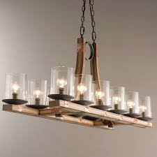 wood chandelier lovely pine wood beam island chandelier shades of light
