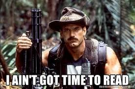 Image result for rules we ain't got time for rules meme
