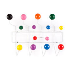 Coloured Ball Coat Rack Amazon Eames Inspired Hang It All Hanger Coat Hook Home 8